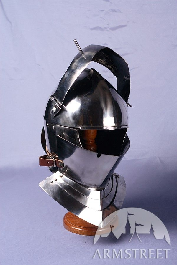 armet knight helmet 14 ga coldrolled mild steel for