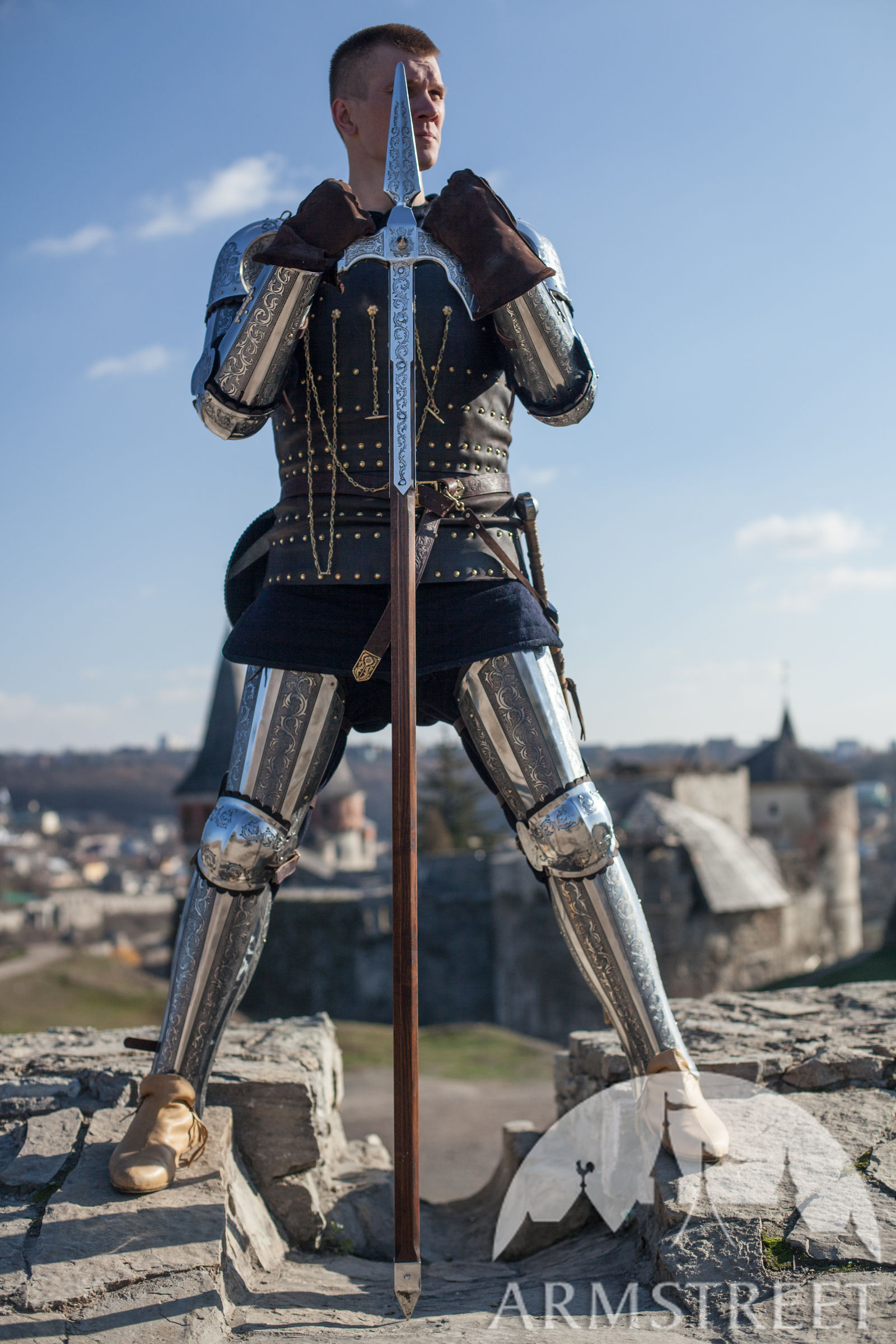 """Knight Of Wands As Advice: Medieval Wearable Combat Armor """"Knight Of Fortune"""