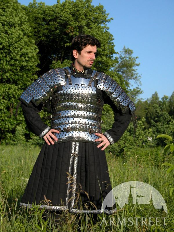 Armor Padding Asian Type Long Gambeson For Sale Available