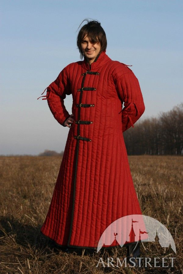 Sca Larp Armor Armour Gambeson Long Body Padding For