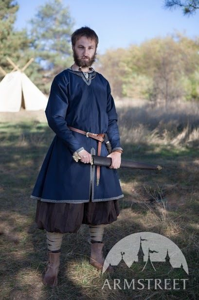 Natural Cotton Viking Tunic Quot Bjorn The Pathfinder