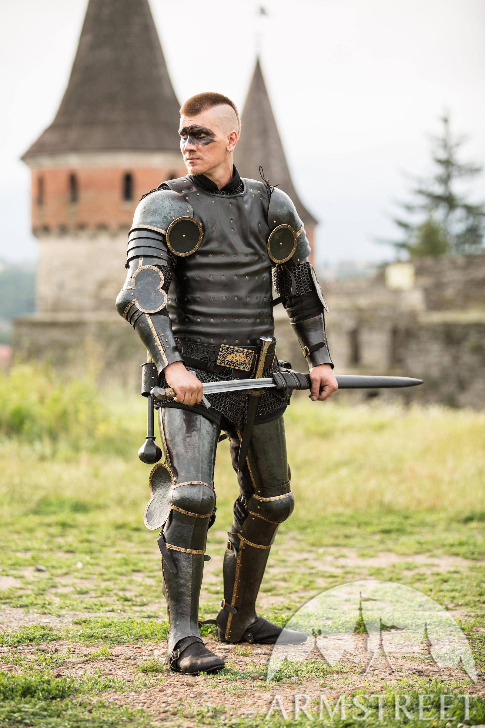 "Black Armor Kit ""The Wayward Knight"" For Sale. Available"