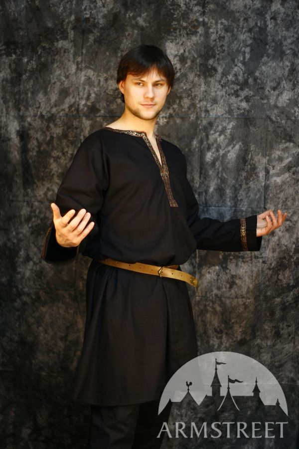 Medieval Classic Short Cotton Tunic For Sale Available In