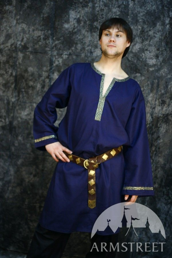 medieval tunic made of natural cotton for sale available