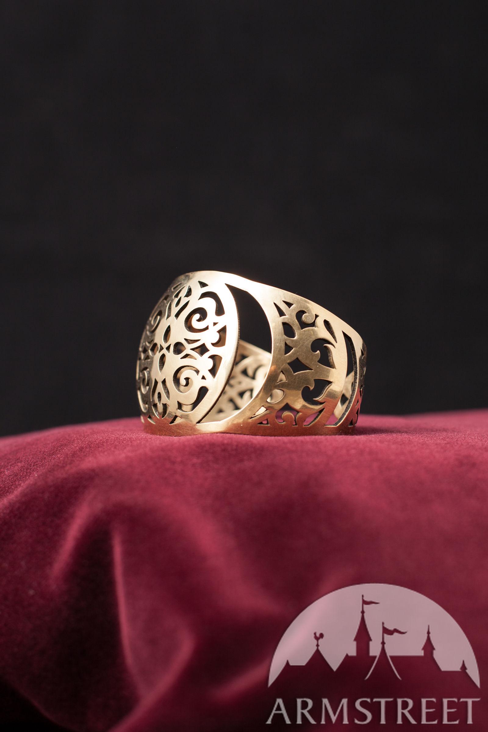 Brass Bracelet Rus Style