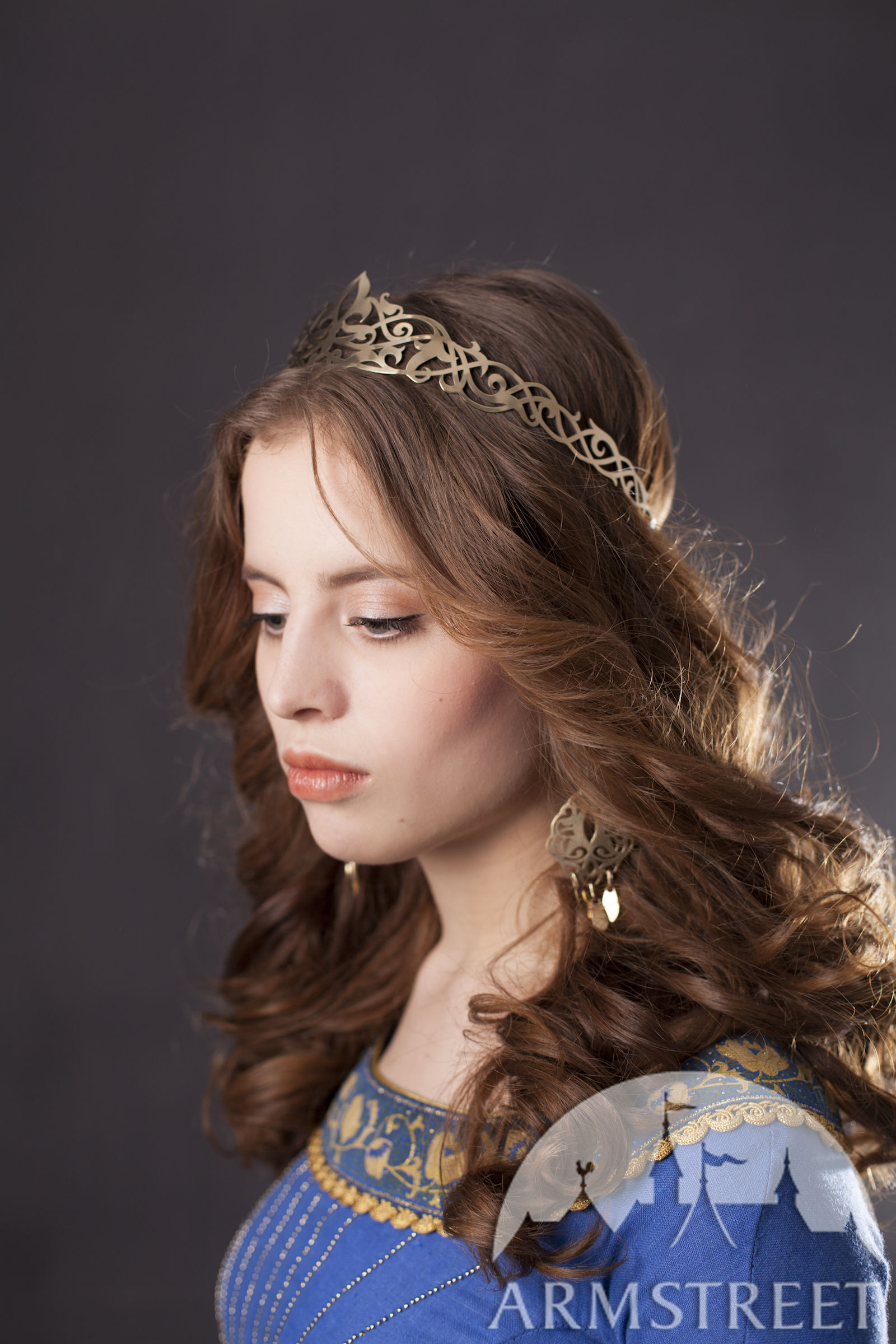 """Brass Circlet """"Lost Princess"""" for sale. Available in ..."""