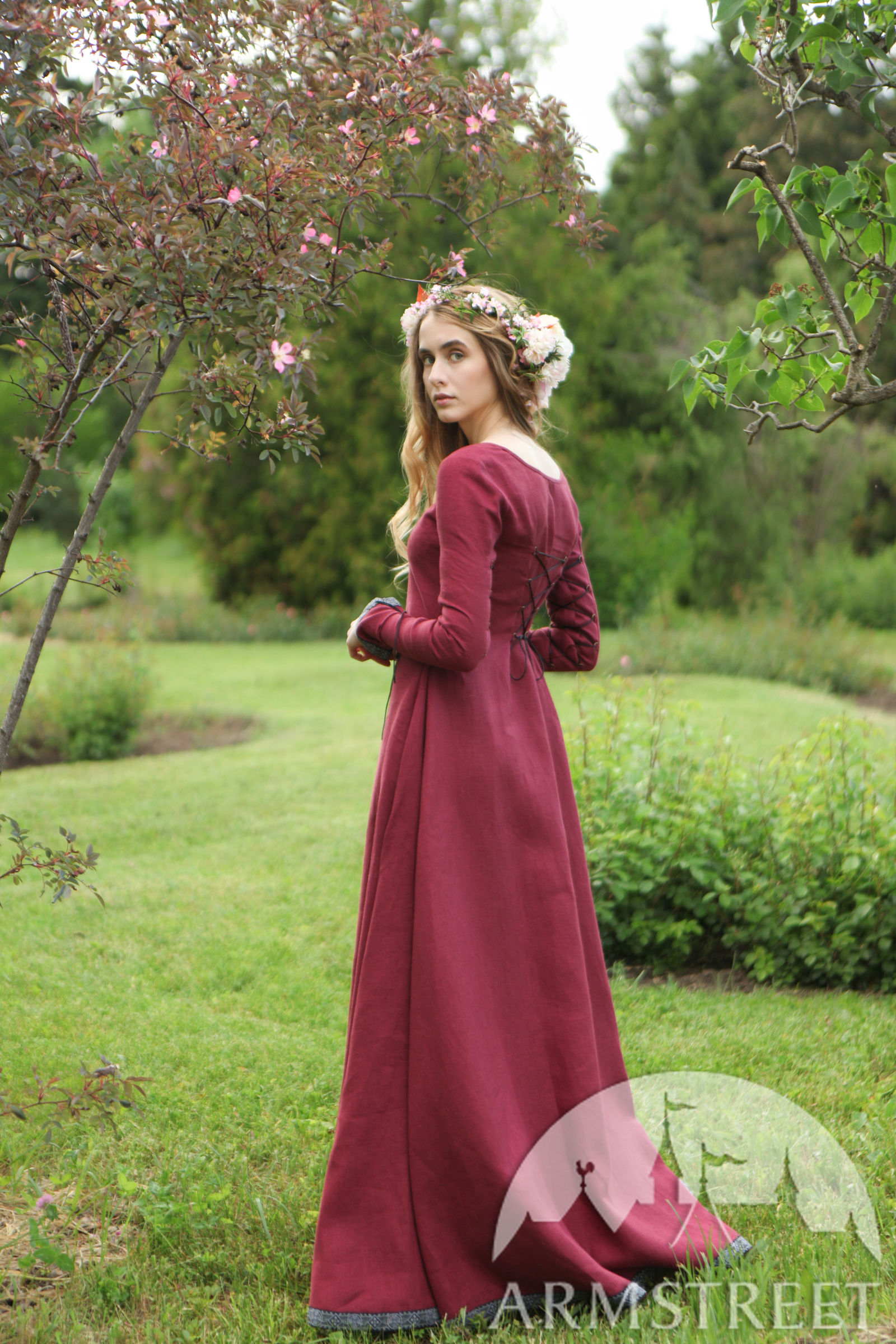 "Secret Garden: Bridesmaid Medieval Dress ""Secret Garden"" For Sale"