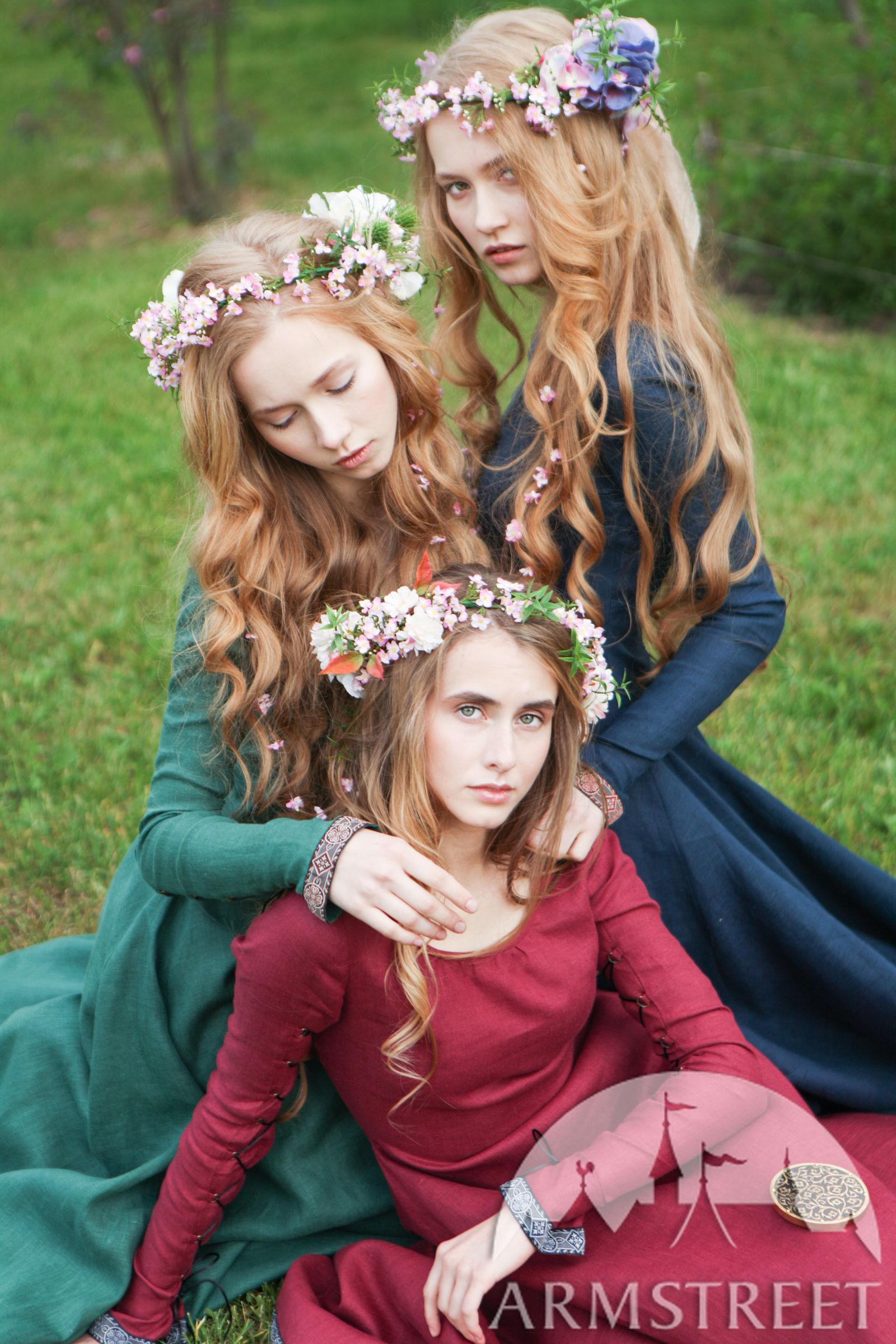 Bridesmaid Medieval Dress Secret Garden For Sale