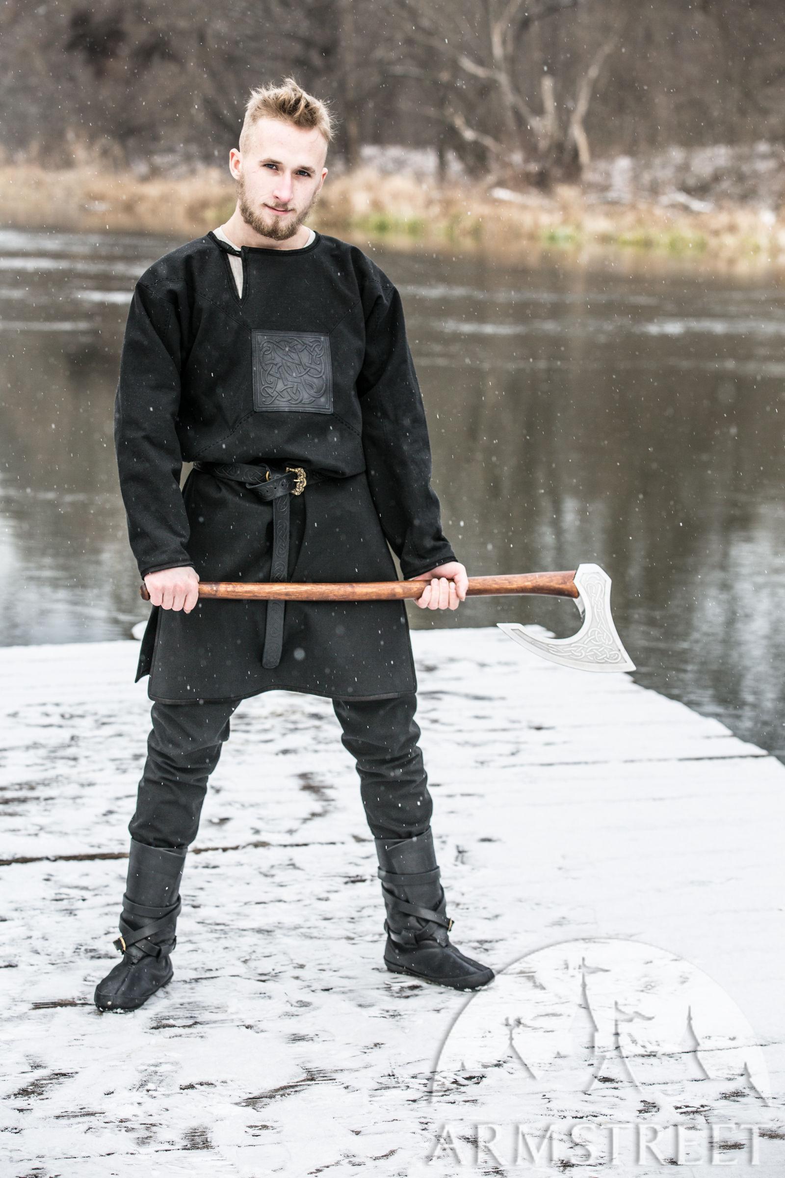 Ragnvaldur The Traveller Canvas Jacket And Viking Hood
