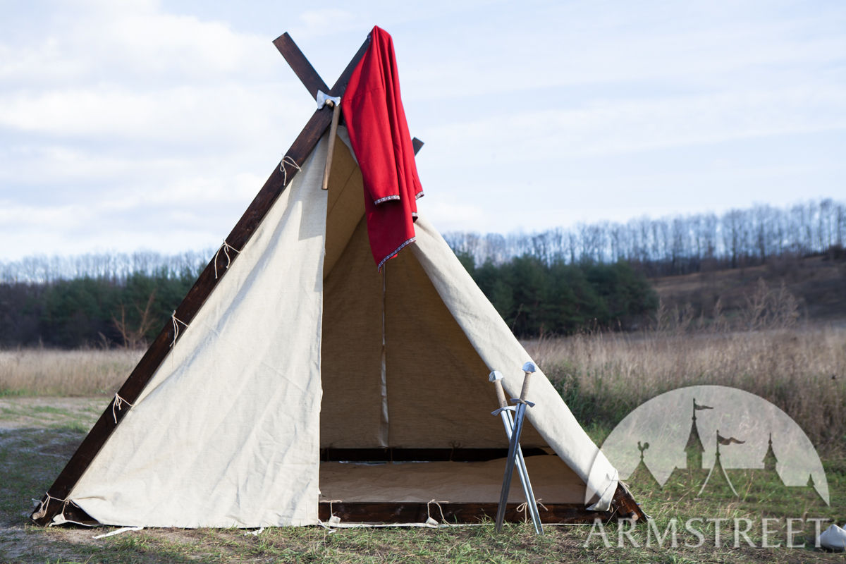 10 10 Canvas Canopy : Canvas viking tent available in light by