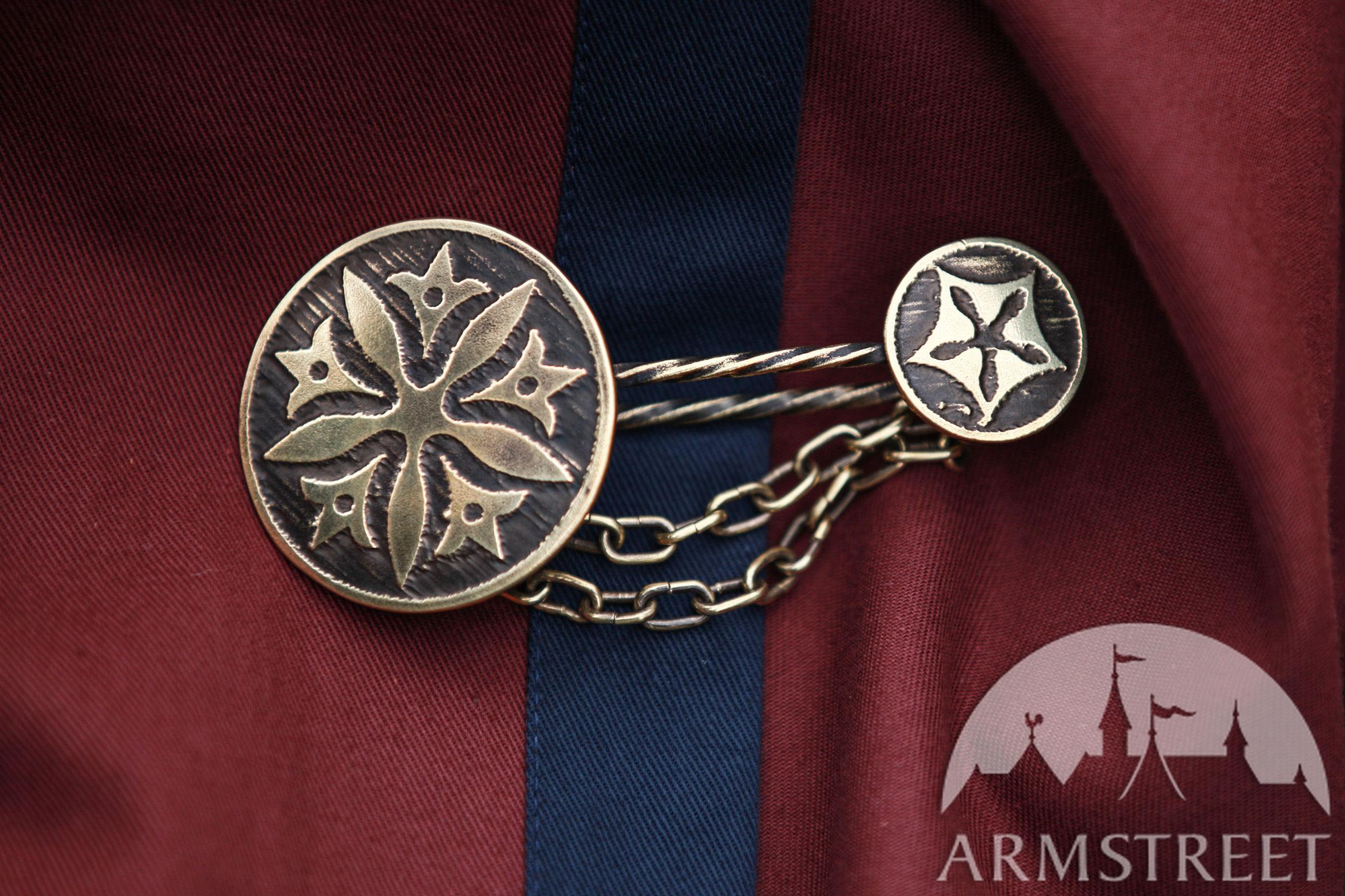 Cloak pin