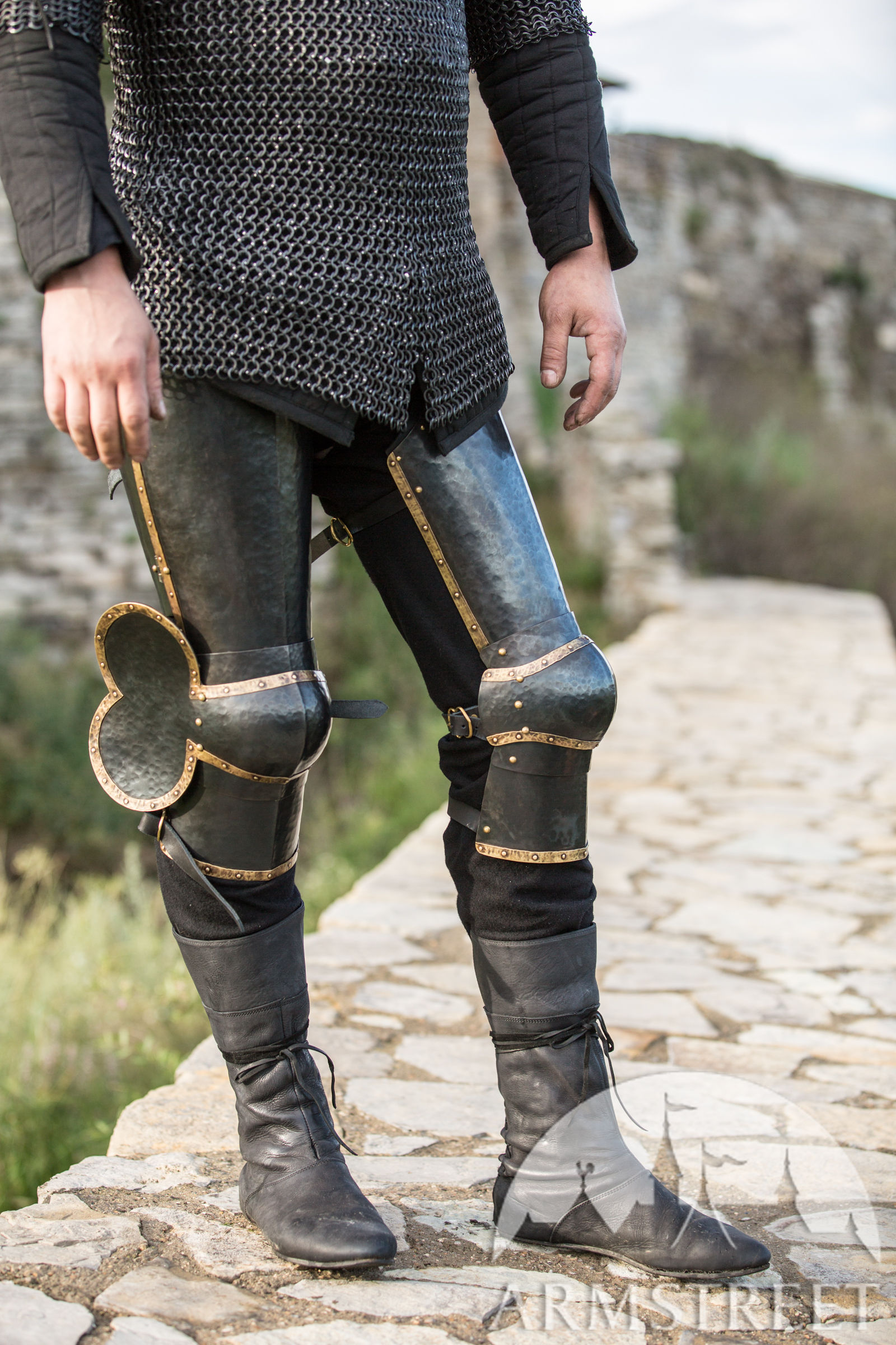 """Cuisses With Articulated Knee """"The Wayward Knight"""" For"""