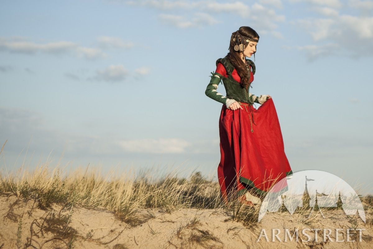"Dress with Corset and Chemise Costume ""The Alchemist's daughter"""