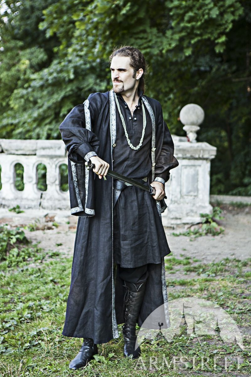 Flax Linen Medieval Eastern Europe Polish Costume Garb