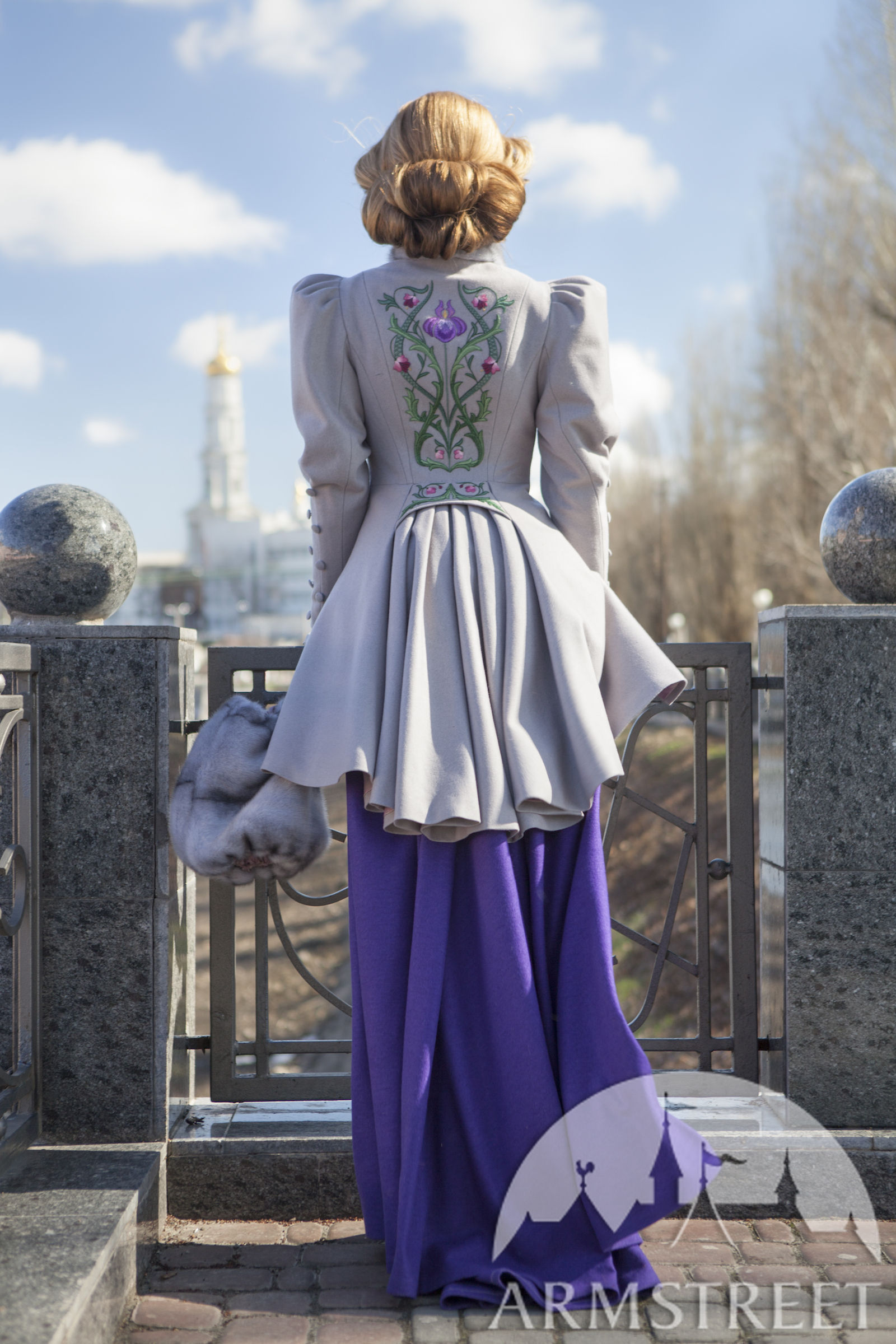 "Exclusive Belle Époque Coat ""Fleur-de-Lis"""