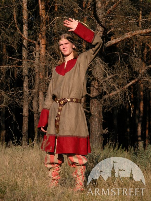 exclusive flax norman medieval tunic costume great tunic