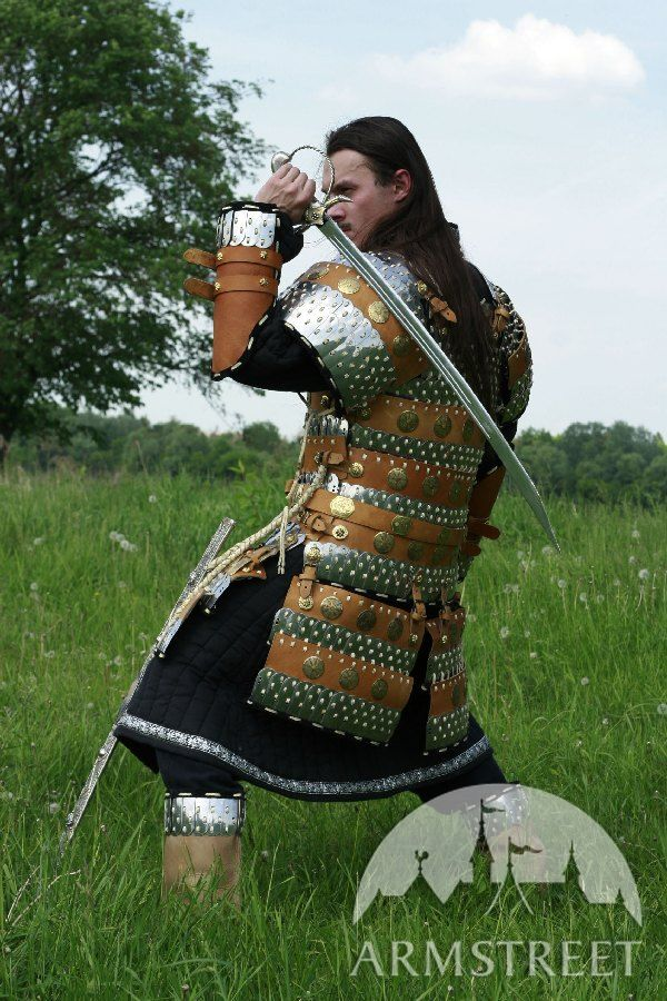 Crowns For Sale >> Lamellar Armor Exclusive Combat Suit for sale. Available in: brown leather, black leather :: by ...