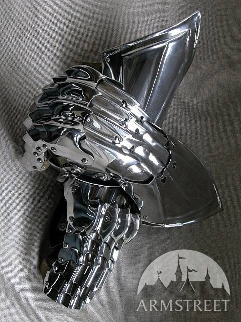 Exclusive Medieval Armor Gloves Gauntlets For Sale By