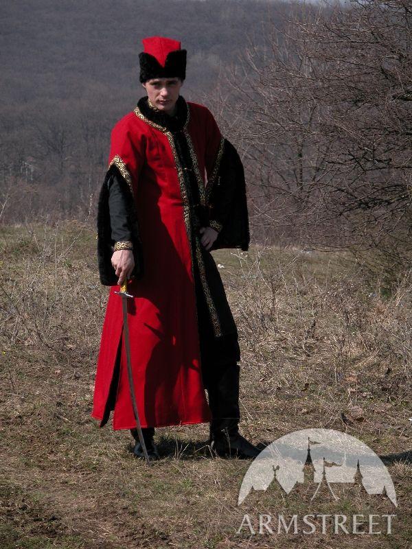 Medieval Woolen Exclusive Polish Szlachta Costume For Sale