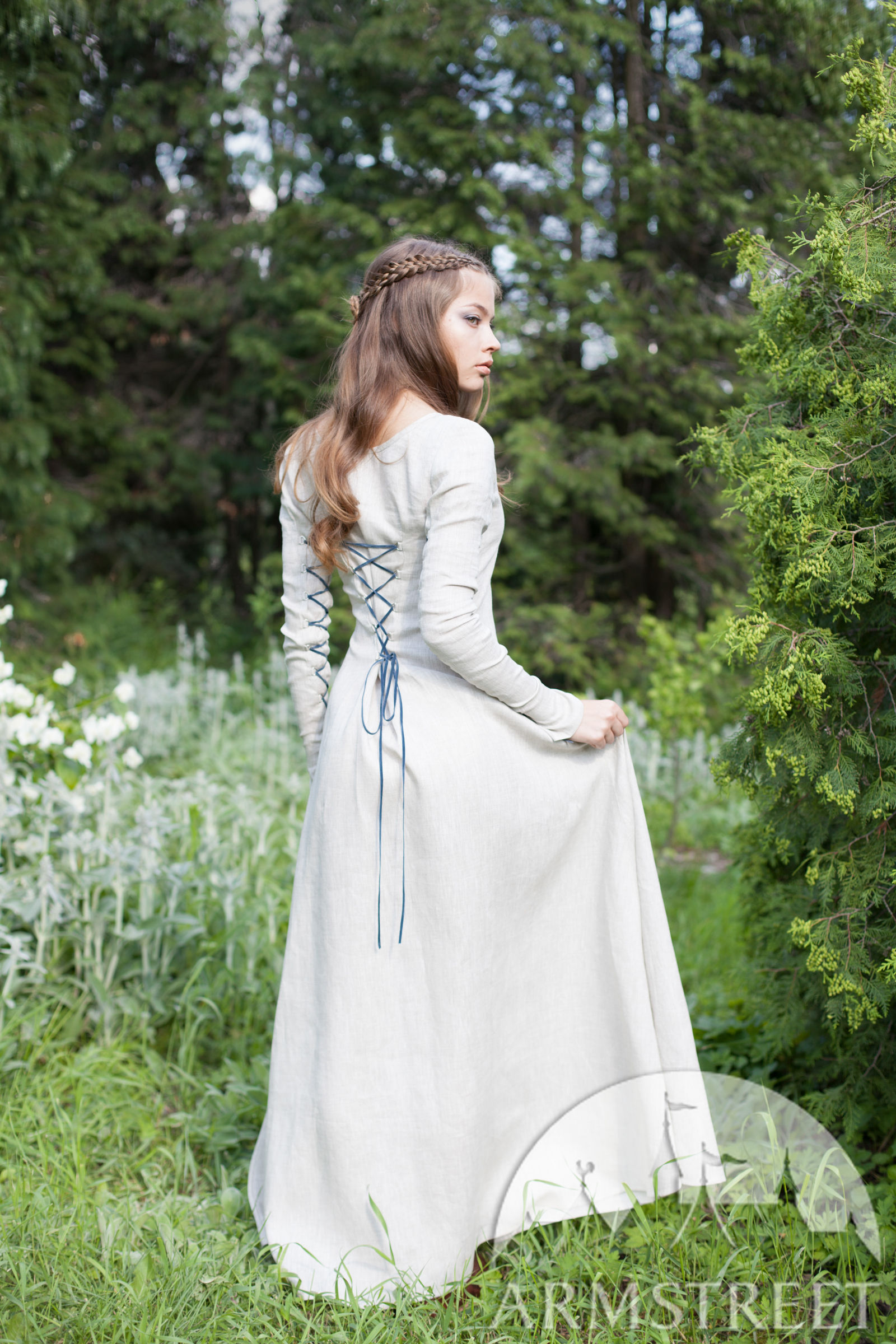 Linen Gown