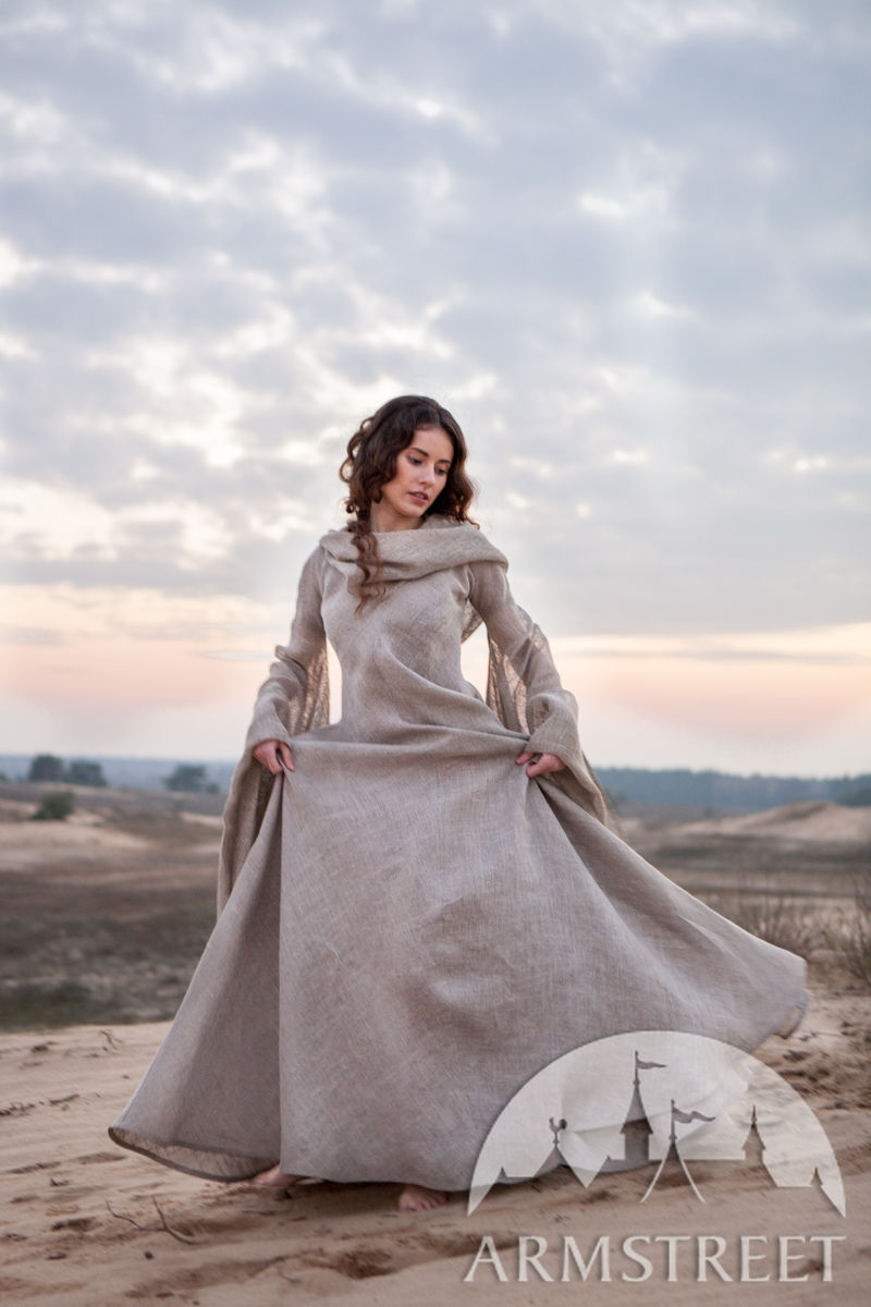 Fantasy Linen Robe Quot Wanderer Quot Available In Sackcloth