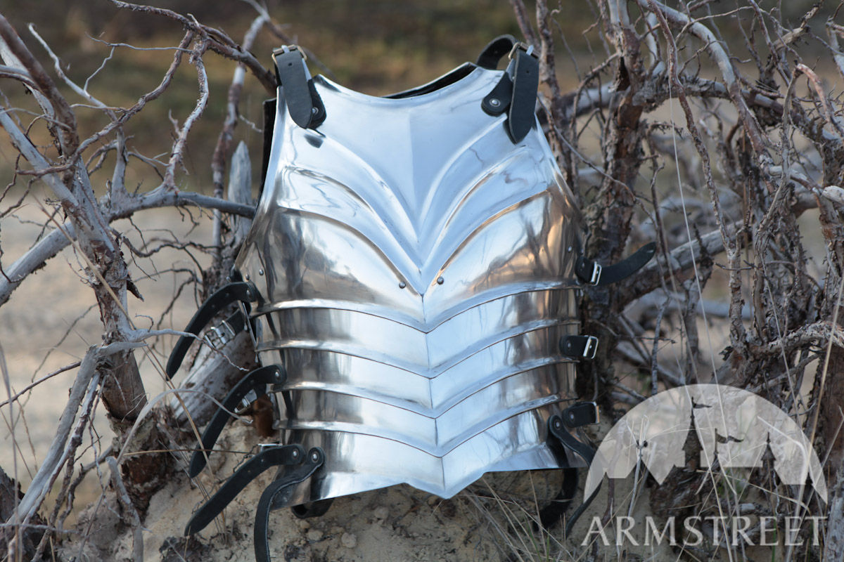 Crowns For Sale >> Fantasy Armor Elven Prince Fluted Cuirass Breastplate Backplate for sale. Available in: mild ...