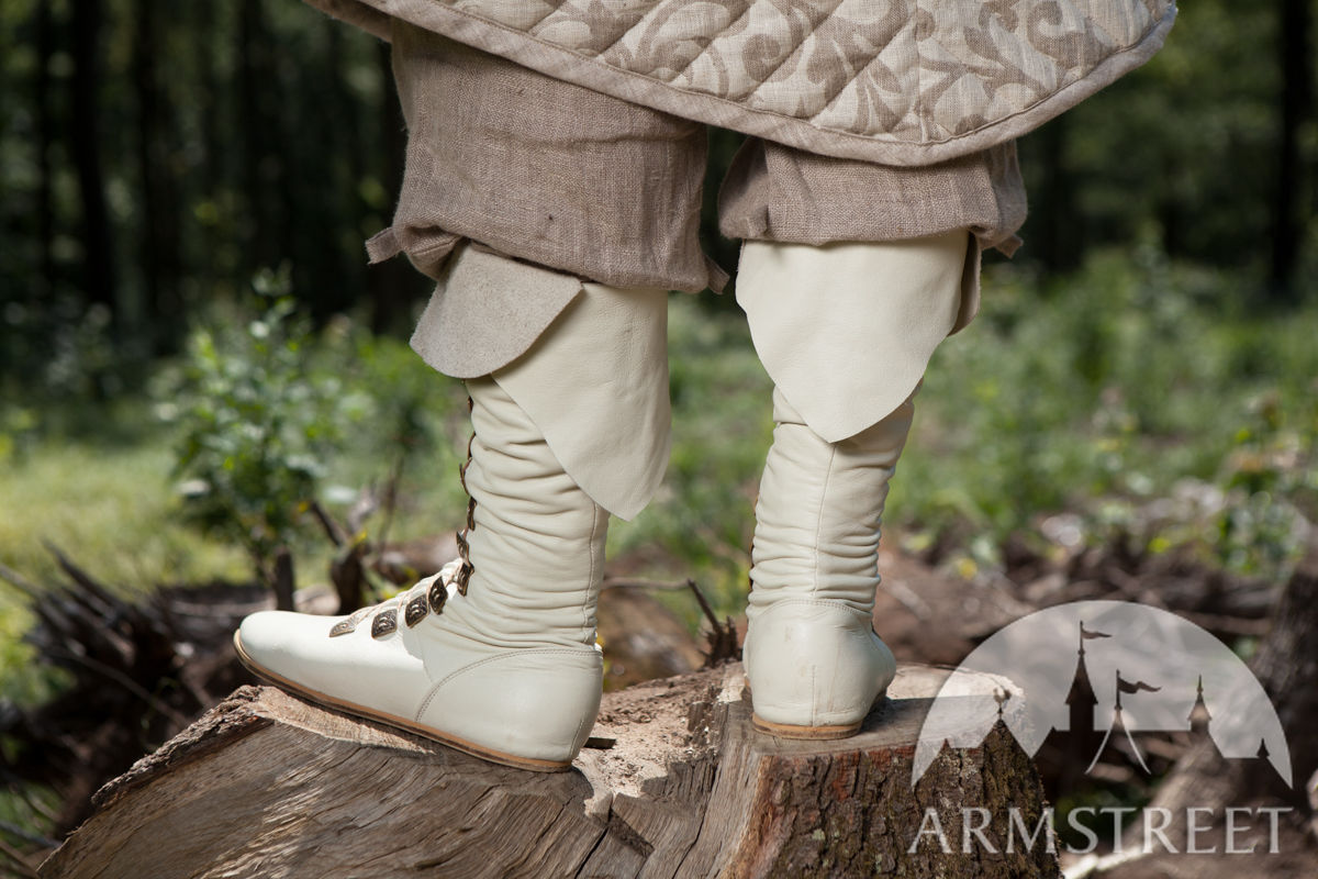 740066f5ced Great quality handmade LARP and SCA boots. Available in  brown leather