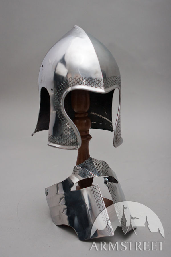 The images for -- Fantasy Medieval Armor Helmet