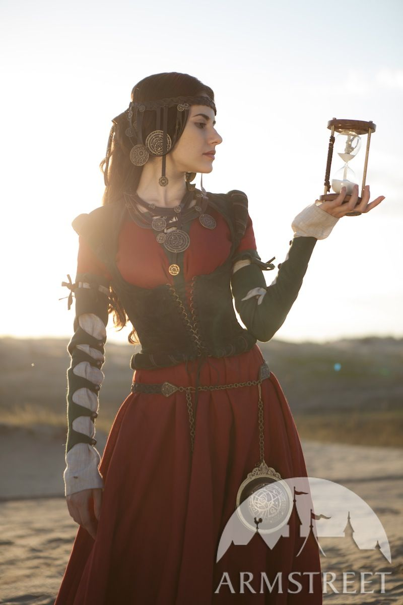 Fantasy Leather And Brass Belt The Alchemist S Daughter