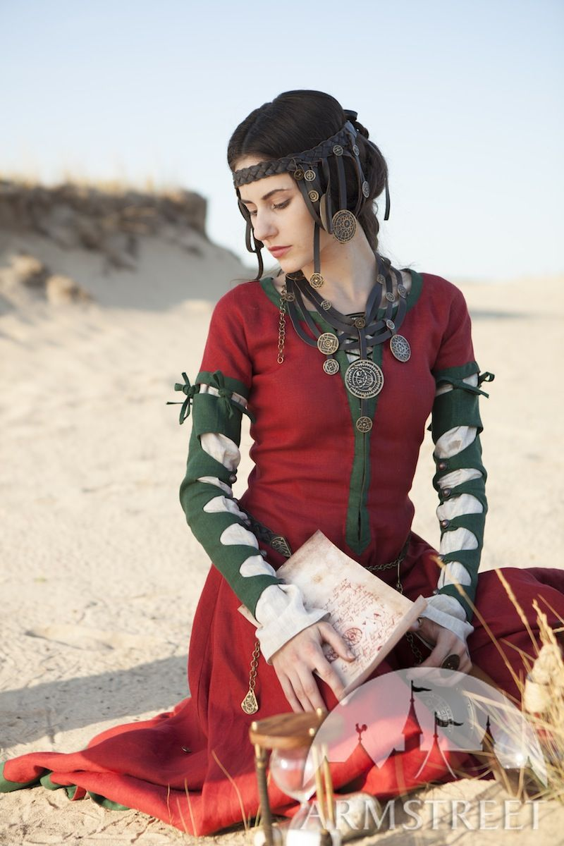 Dresses and accessories: The Alchemist's daughter collection