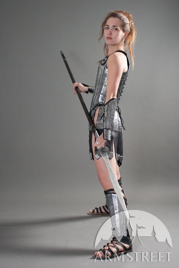 Fantasy Stainless Full Women S Lady Warrior Armor Set For