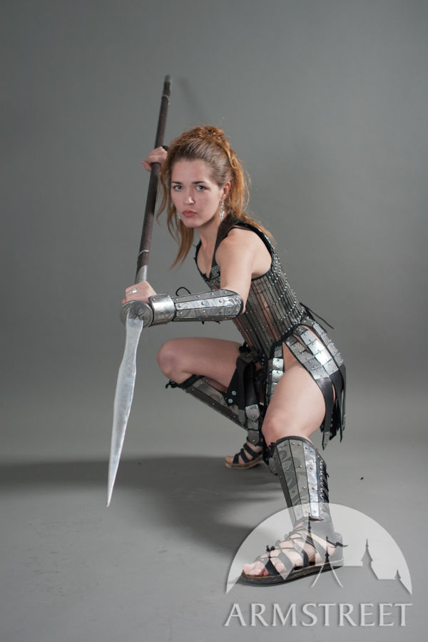 Fantasy Stainless Full Womens Lady Warrior Armor Set for