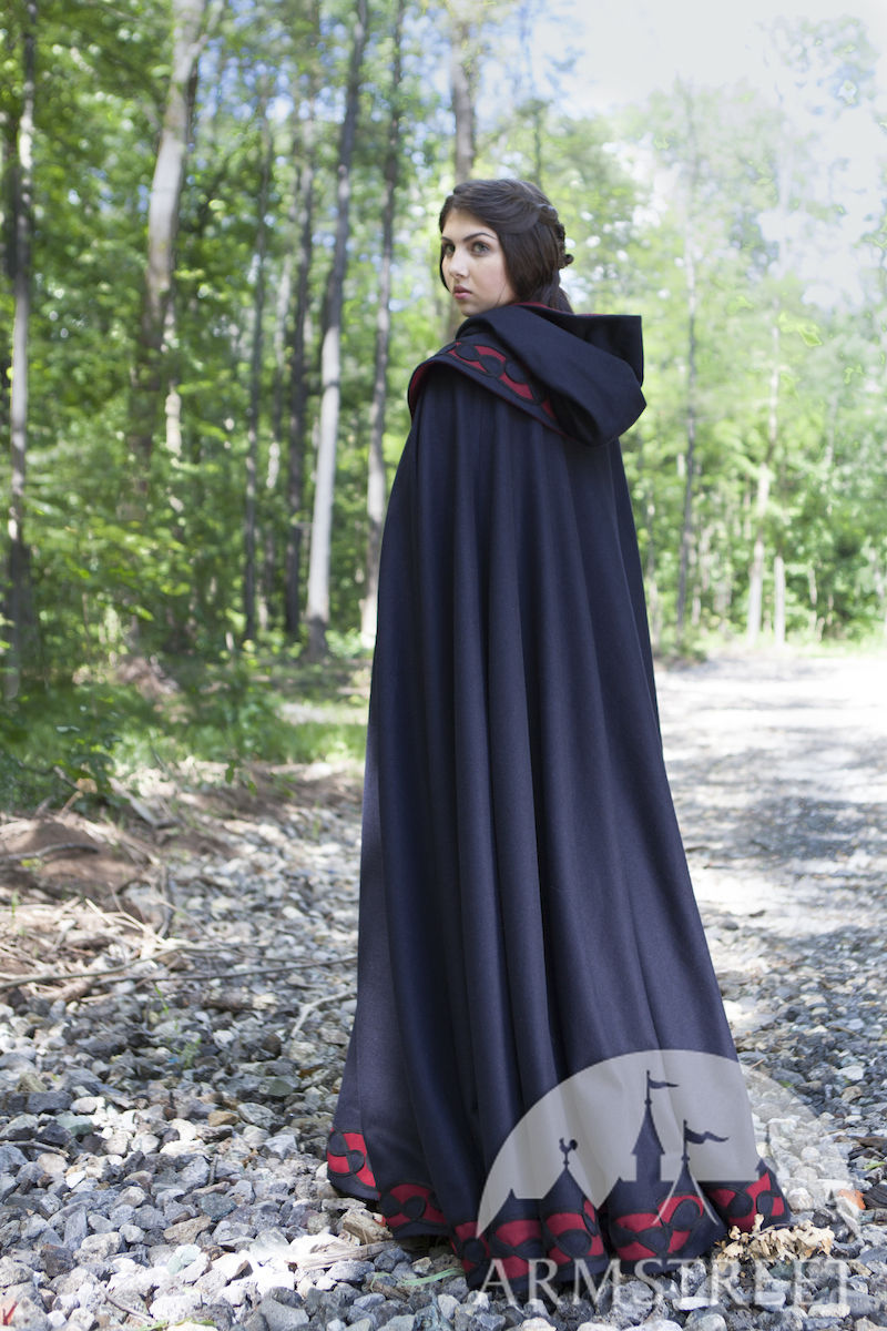 Our cloaks and capes are not designed as costumes, but can be used for them! For the plus size woman, a cloak or cape is the perfect outerwear! Handcrafted from high quality fabric, our wool, fleece, cashmere, and velvet cloaks and capes are surprisingly lightweight.