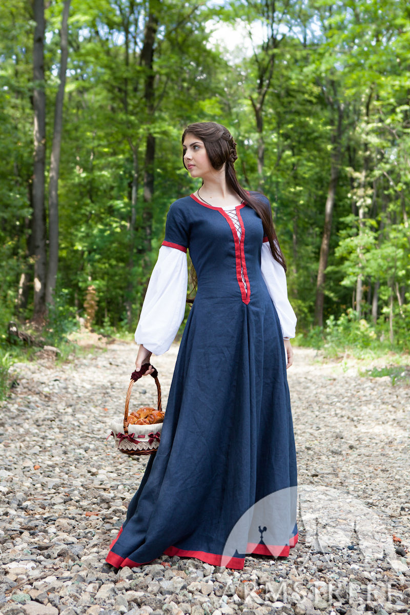 Armstreet S Medieval Costume Dress Chemise Apron And