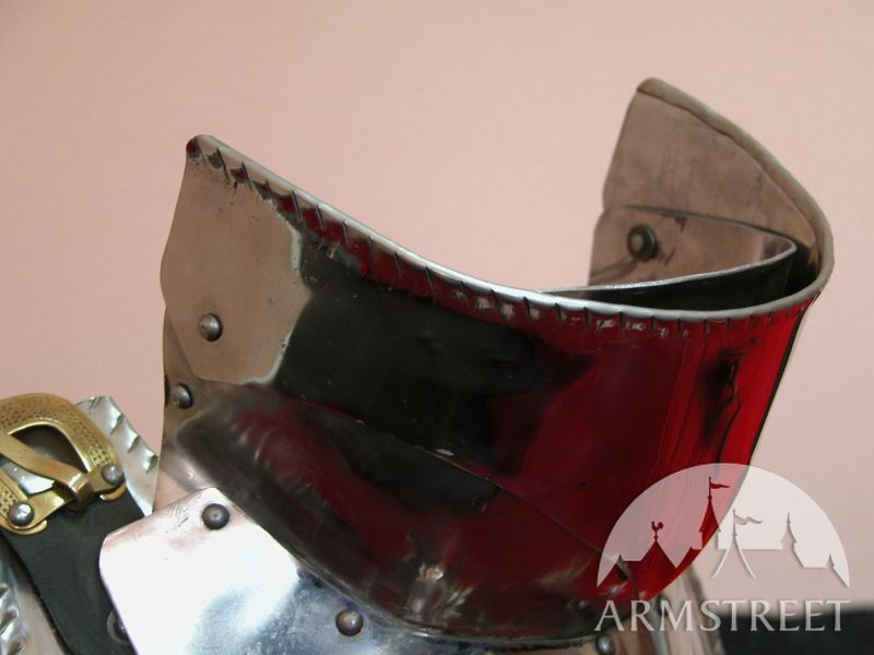 Gothic armor full knight armor suit - armour gorget