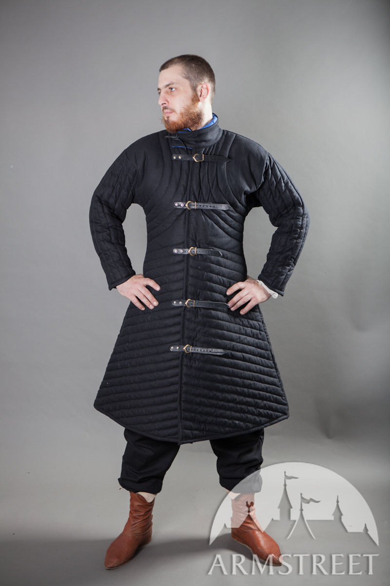 Medieval Reenactment SCA armour gambeson