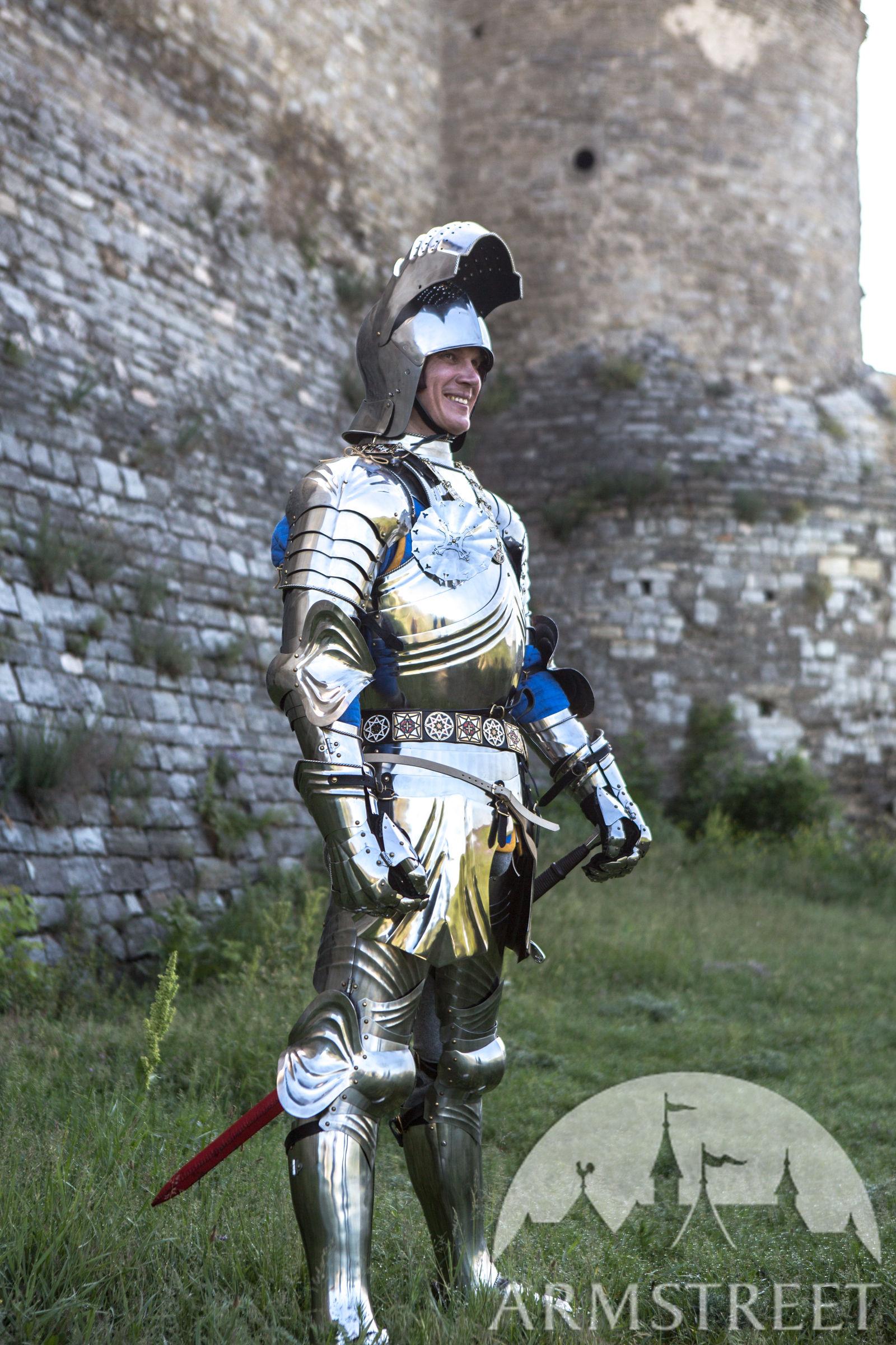 Sallet Helmet For XV Century Gothic Armour For Sale