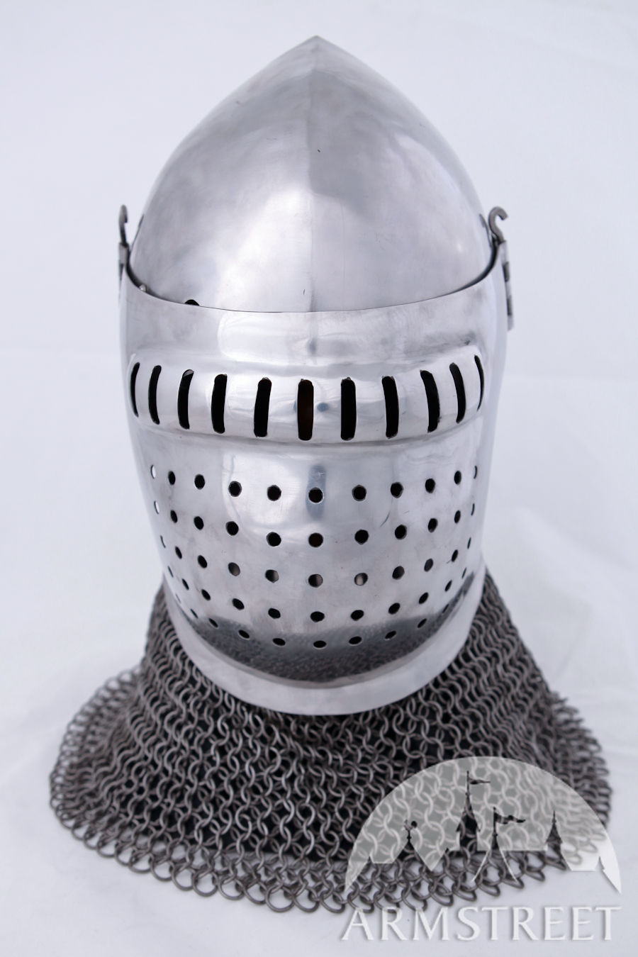 Grand Bascinet Helm Fighting Version