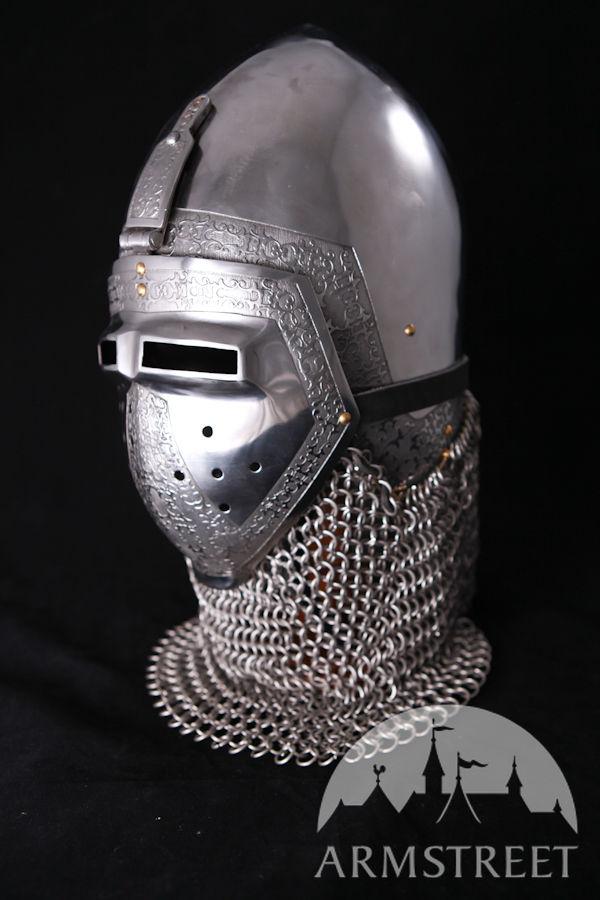 "Medieval Klappvisor Bascinet Helmet ""Paladin"""