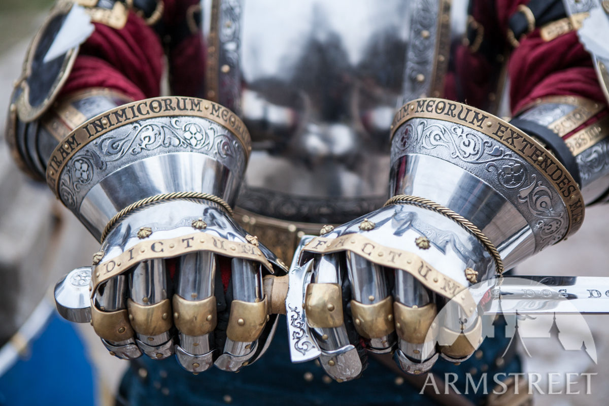 how to build a gauntlet armor