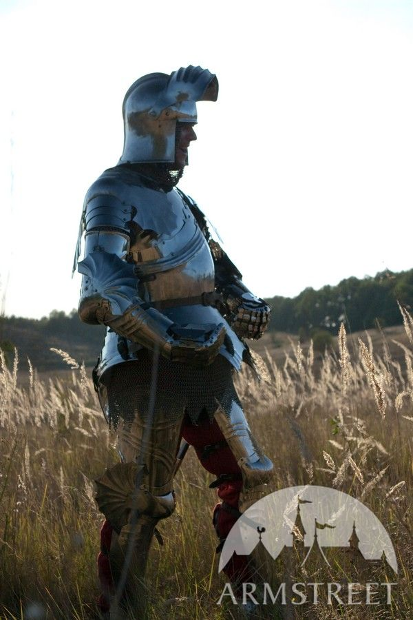 medieval full sca harness wearable functional knight armor