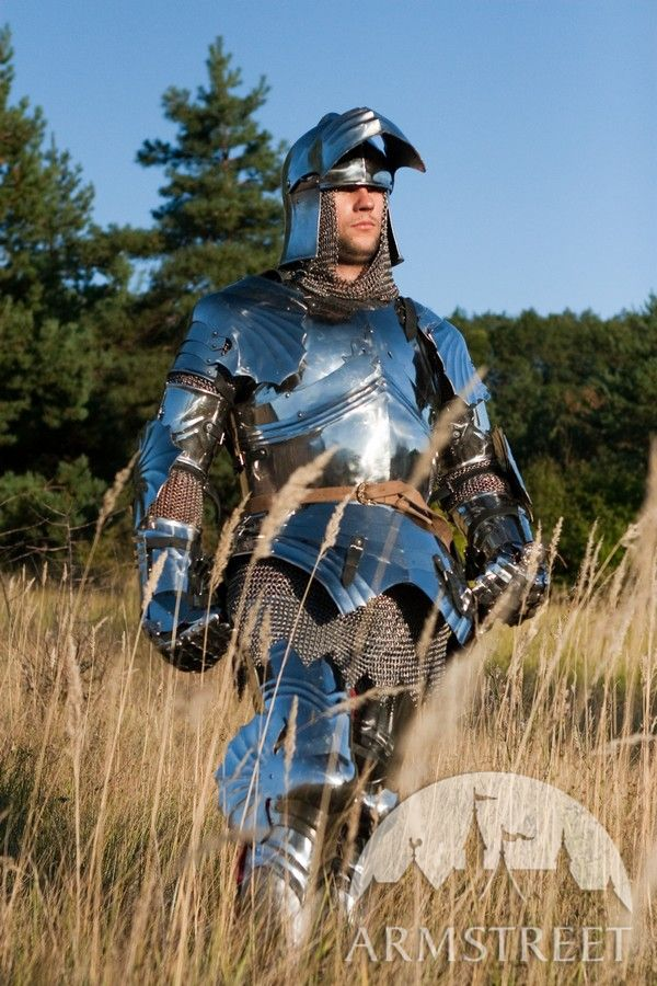 SCA knight armor by ArmStreet - Generation II gothic set