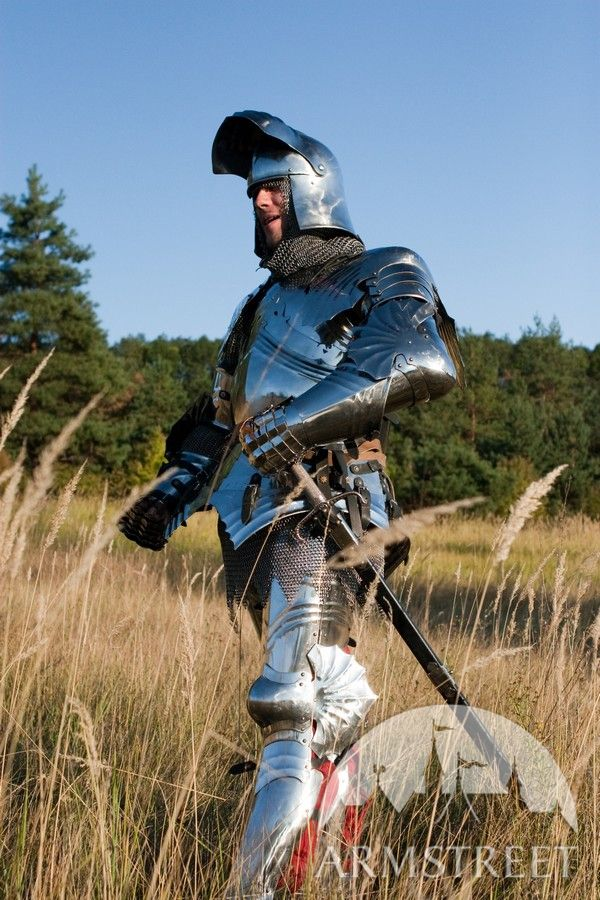 Medieval Knight Armor Sca Functional Suit