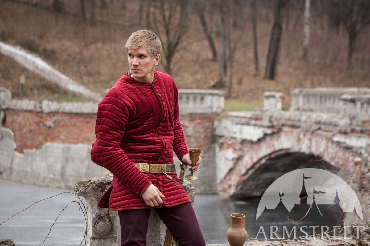 "Medieval Gambeson Purpoint Underarmor ""The King's Guard"""
