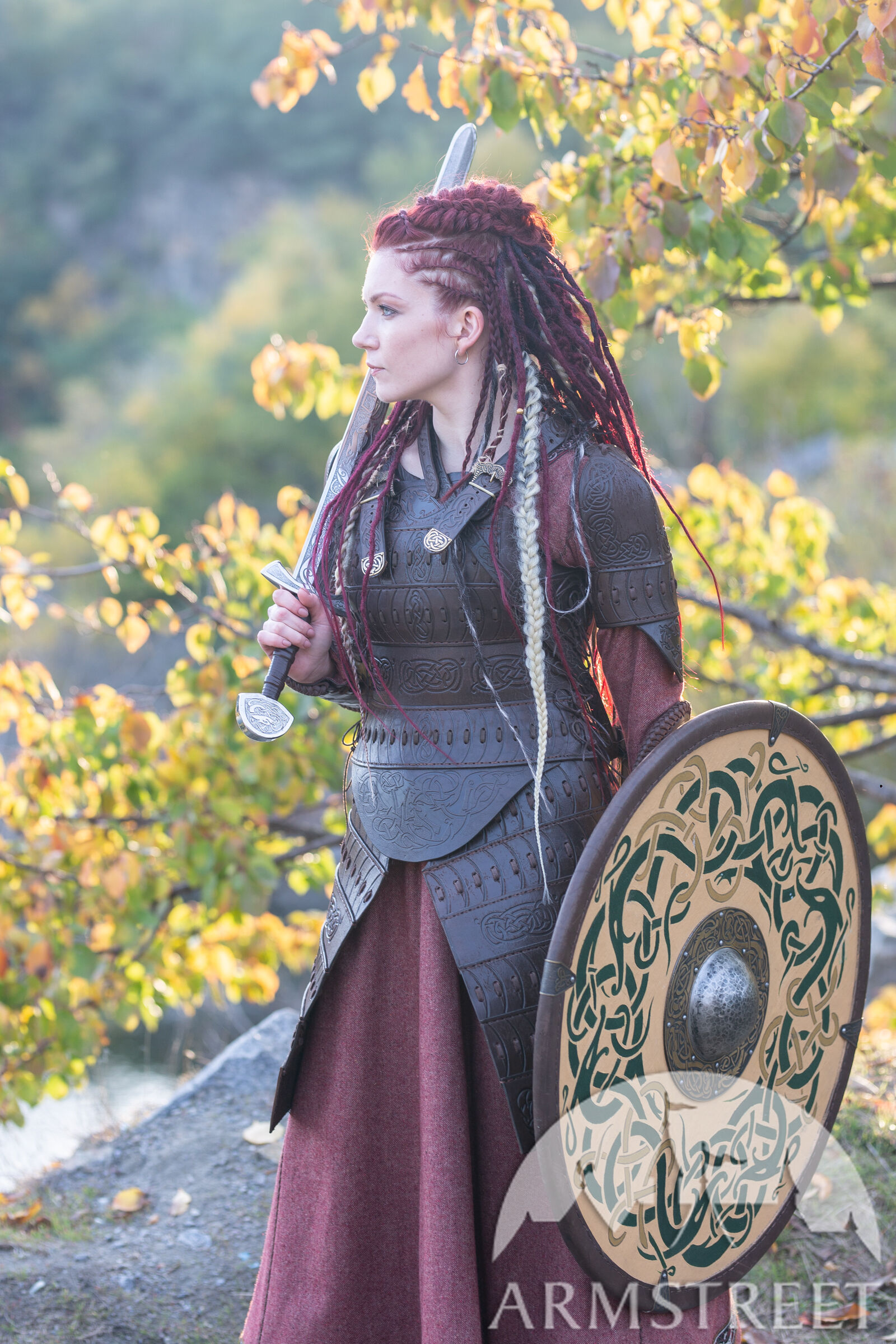 Viking S Leather Armour Quot Shieldmaiden Quot Available In