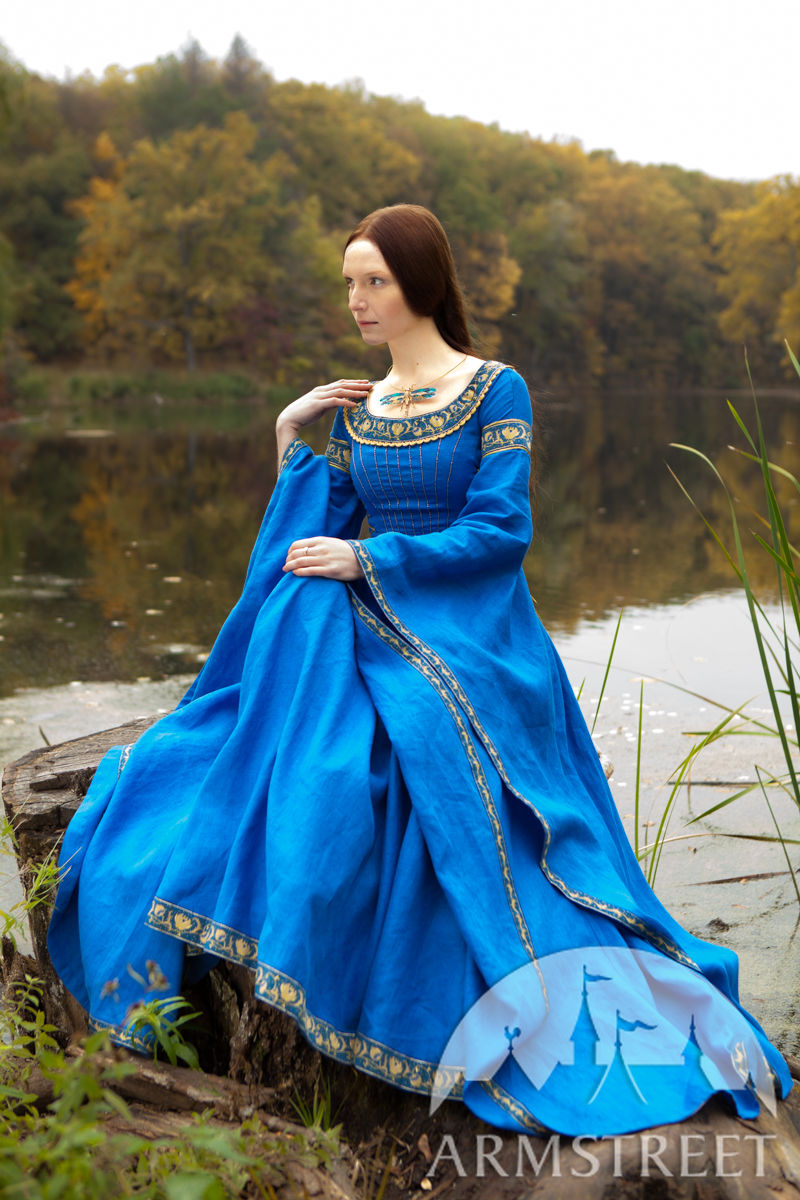 Blue Medieval Dress Quot Lady Of The Lake Quot Available In