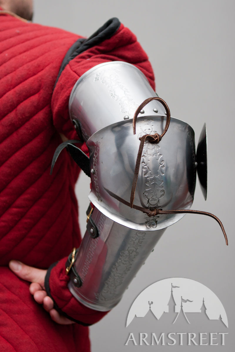 Great Quality Stainless Medieval Style Western Arm Armour
