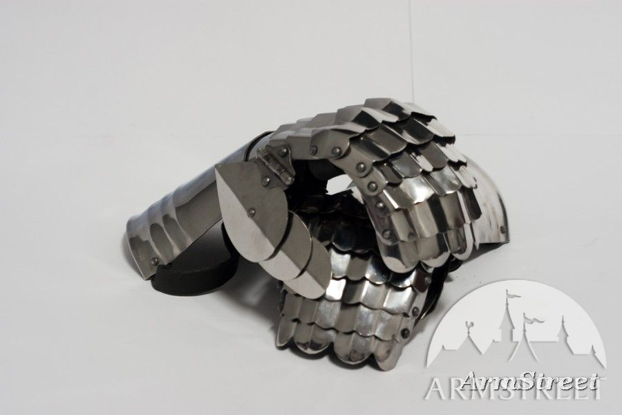 Medieval Gothic Armor Gauntlets Stainless Steel Gauntlets