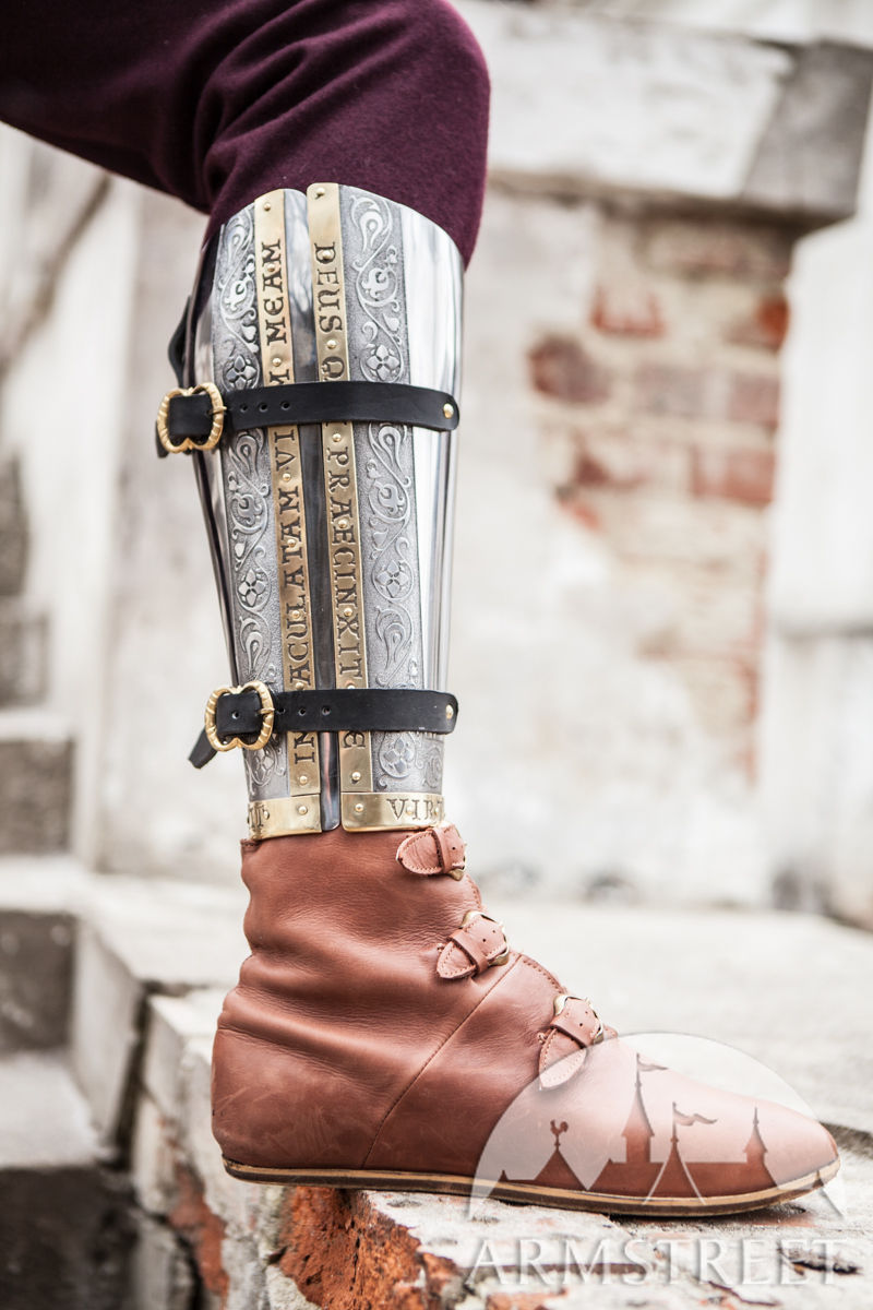 Medieval Armor Greaves Quot The King S Guard Quot Sca Available