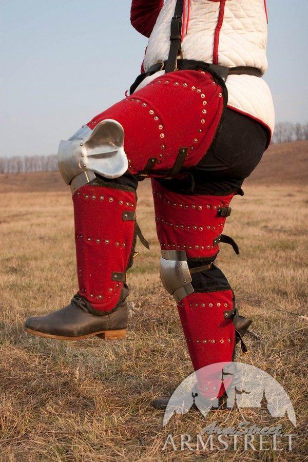 Brigandine Armor Brigandine Type Medieval Armor Legs